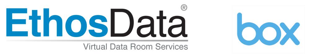 EthosData dataroom vs Box