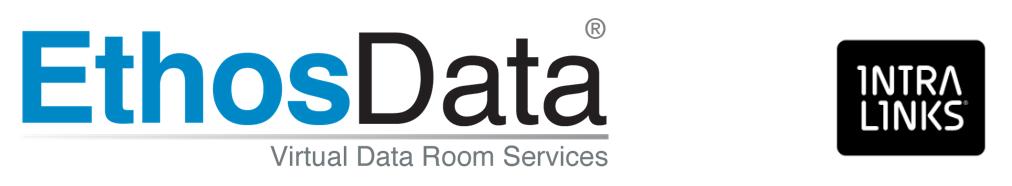 EthosData dataroom vs Intralinks
