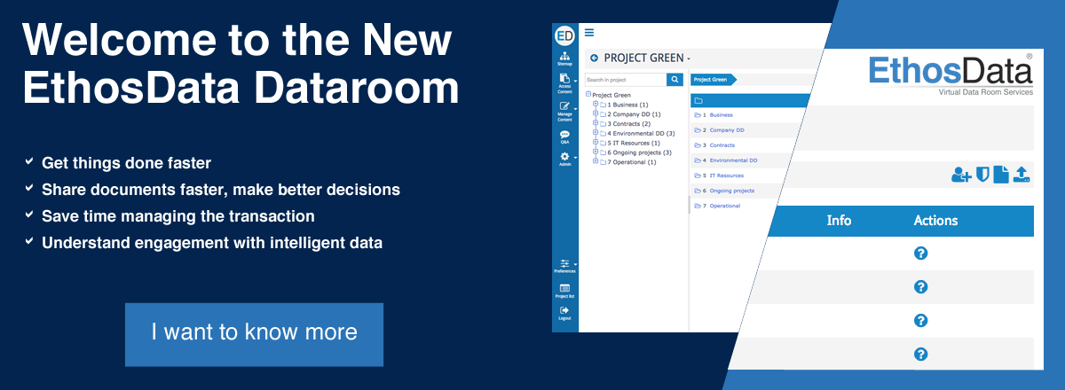EthosData launches new dataroom
